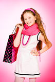Teen fashion Royalty Free Stock Photo