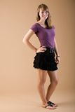 Teen fashion skirt Stock Photography