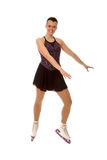 Teen Figure Skater. Teen age Figure Skater or Ice Dancer in Costume stock photos
