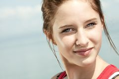 Teen fitness and heath care concept Royalty Free Stock Photo