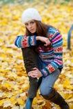 teen flicka Fotografering för Bildbyråer
