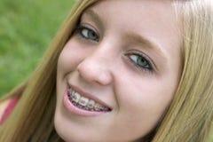 teen flicka royaltyfri bild