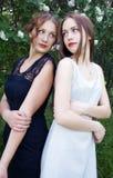 teen flickor Fotografering för Bildbyråer