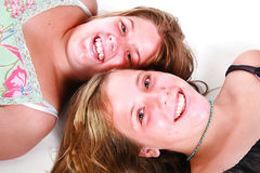 teen flickor Royaltyfria Bilder