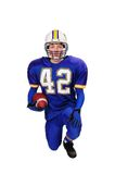 Teen Football Player Royalty Free Stock Photos