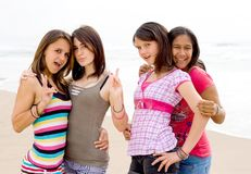Teen friends Stock Photos