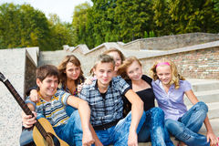 Teen friends Royalty Free Stock Photography