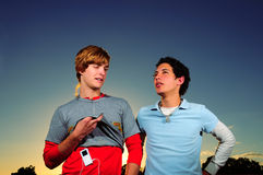 Teen friends Stock Images
