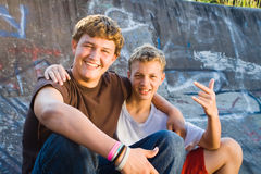 Teen friends Royalty Free Stock Photo