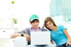 Teen friends Royalty Free Stock Image