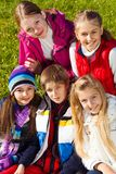 Teen friends portrait Royalty Free Stock Photo