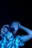 Teen gamer Stock Image