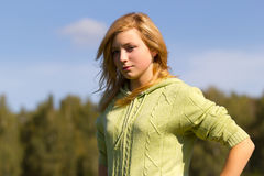 Teen girl Stock Photography