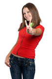 Teen girl Royalty Free Stock Photos