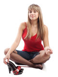Teen girl Stock Photo