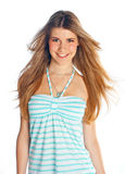 Teen girl. Attracive teen girl in fashion clothes Stock Photo