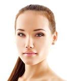 Teen girl beauty face Stock Photos
