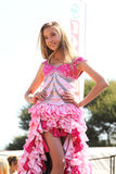 Teen Girl Beauty Pageant at Festival South Africa Stock Images