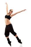 Teen girl dancer Stock Image