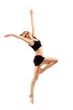 Teen girl dancer Stock Photo