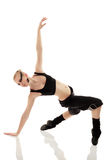 Teen girl dancer Royalty Free Stock Photography
