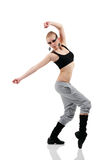 Teen girl dancer Royalty Free Stock Photos