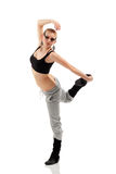 Teen girl dancer Stock Photography