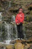Teen girl at the Falls Stock Photos