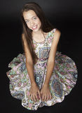 Teen Girl Fashion Royalty Free Stock Photo