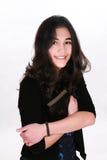 Teen girl holding Bible Royalty Free Stock Image
