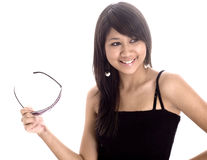 Teen Girl Laughing Stock Photography