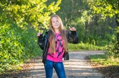 Teen girl Stock Image