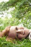 Teen girl looking at camera Royalty Free Stock Image