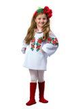 Teen girl in national dress Stock Image