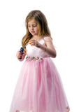 Teen girl in national dress Royalty Free Stock Images