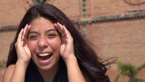Teen Girl Peek A Boo Royalty Free Stock Photos