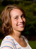 Teen Girl Portrait Stock Photo