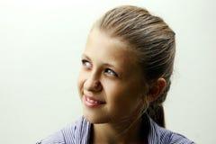 A teen girl portrait stock image