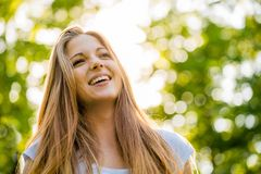 Teen girl portrait Stock Photography