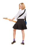 Teen Girl Rockstar Stock Photography
