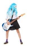 Teen Girl Rockstar stock image