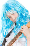 Teen Girl Rockstar Royalty Free Stock Images