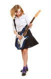 Teen Girl Rockstar Stock Images