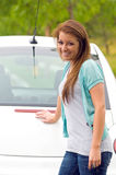 Teen Girl's First Car Stock Images