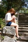 Teen Girl Sad Royalty Free Stock Photography