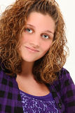Teen Girl Smiling Stock Photos