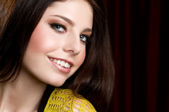 Teen Girl Smiling Royalty Free Stock Photos