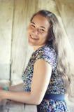 Teen Girl Smiling royalty free stock photo