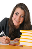 Teen girl student Stock Image