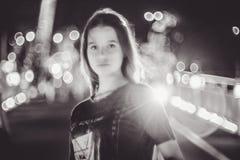 Beautiful young model teen girl stock images